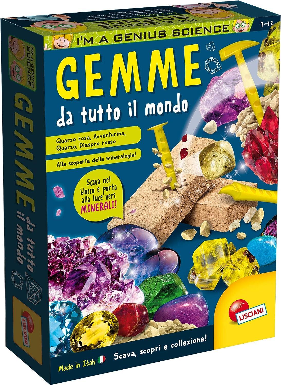 Lisciani 48953 Kit de experimentos Juguete y Kit de Ciencia para niños - Juguetes y Kits de Ciencia para niños (Geología, Kit de experimentos, 7 año(s), Niño/niña, 10 año(s), Multicolor)