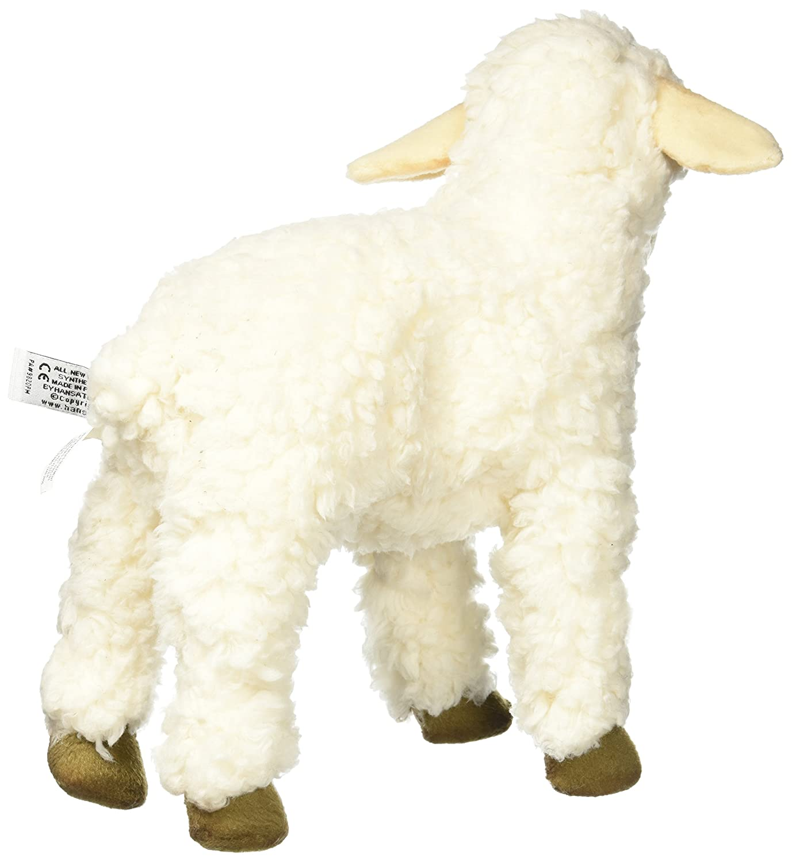 White 11 Optimum Fulfillment Toys 177229 Hansa Sheep Plush Animal Toy 11