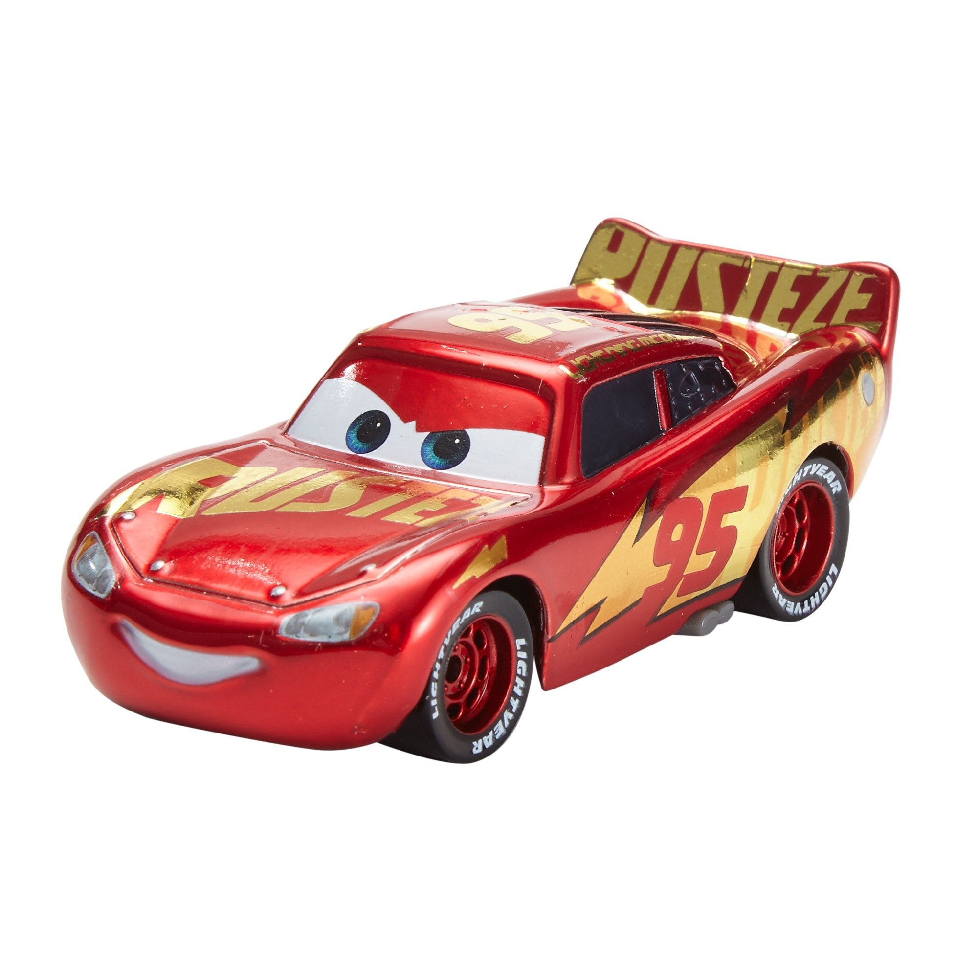 Mattel Disney Cars DXV45 Die-Cast Rust-Eze Racing Center Lightning Mcqueen