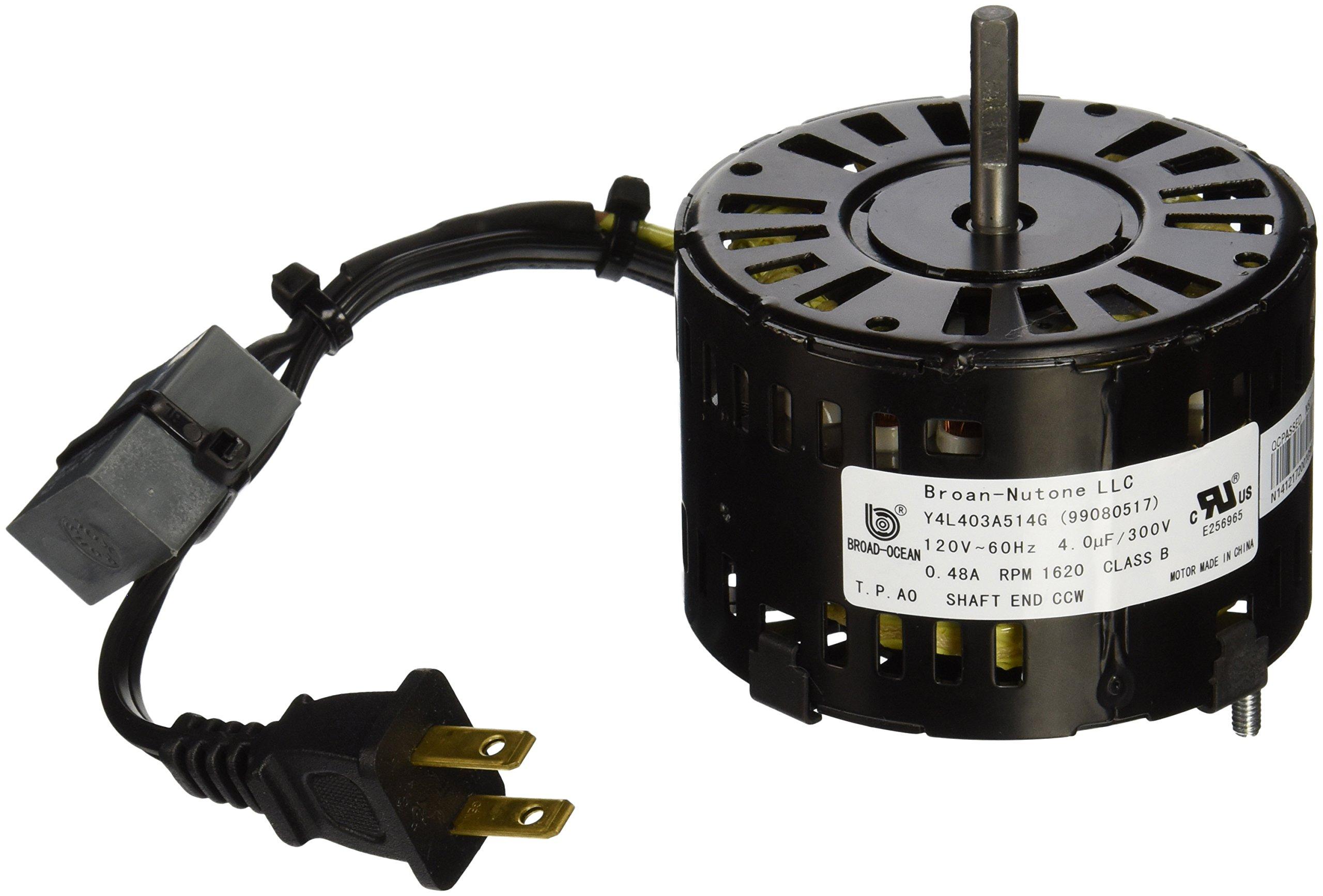 Broan S99080517 Bathroom Fan Motor