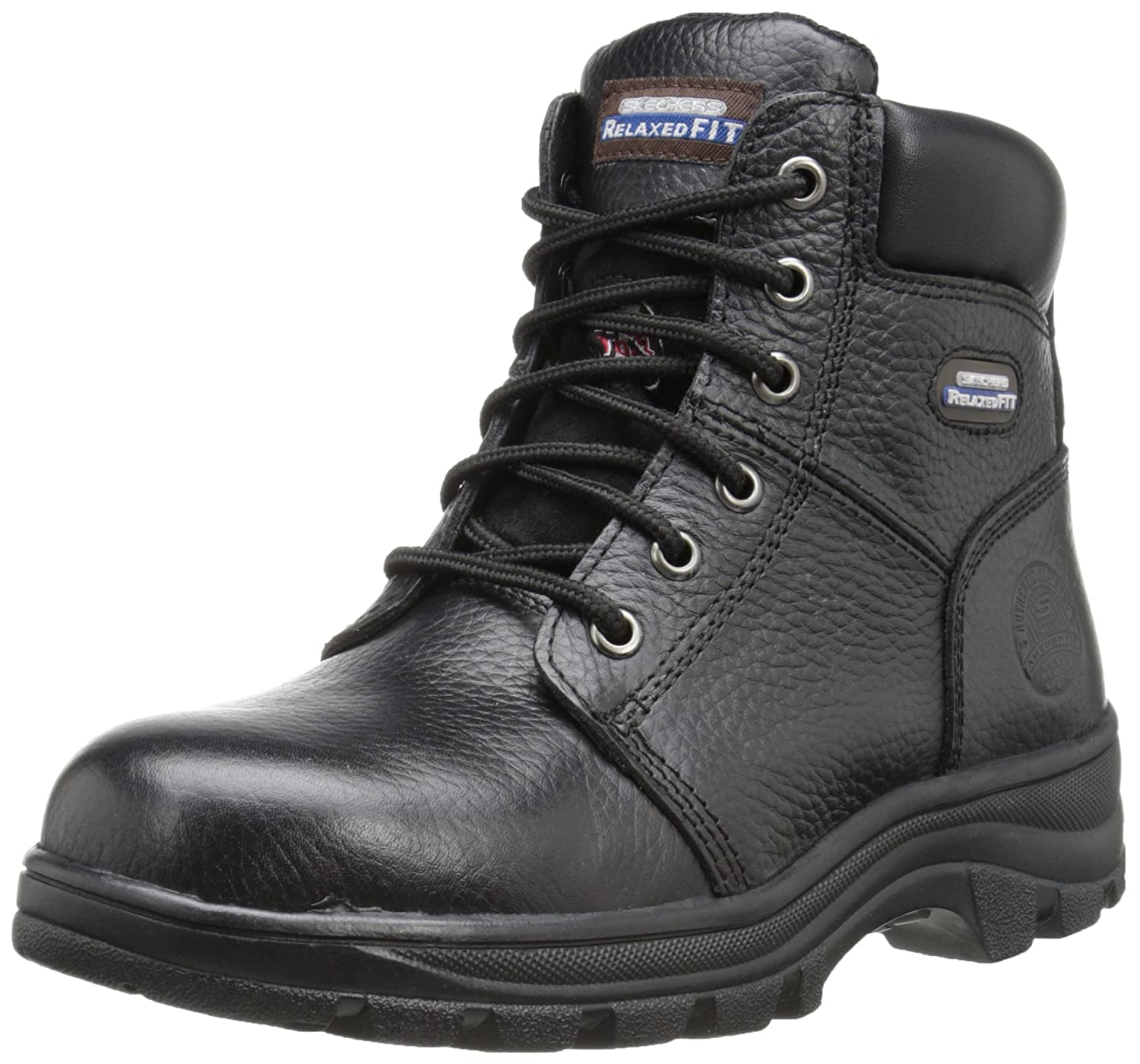 Skechers fAtilde;frac14;r Arbeit 76.561 Workshire Peril Stiefel  36 EU|Black
