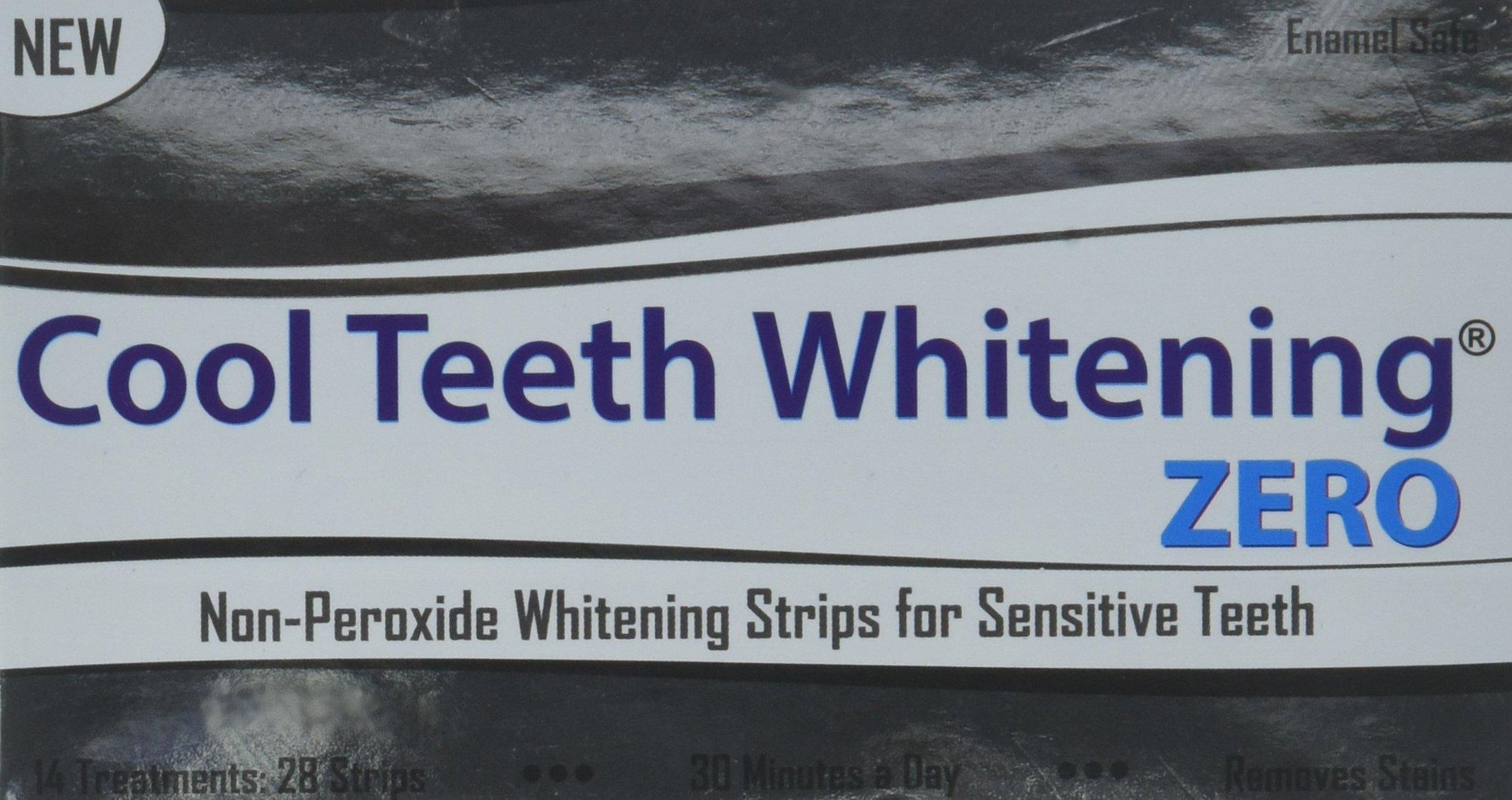 Amazon Lumeeno Zero Peroxide Gentle Teeth Whitening Strips 28