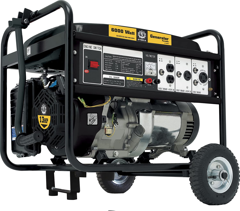 Amazon Steele Products SP GG600 5000 Running Watts 6500