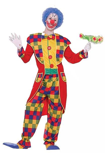 Amazon.com: Forum Sensaciones de circo payaso disfraz de ...
