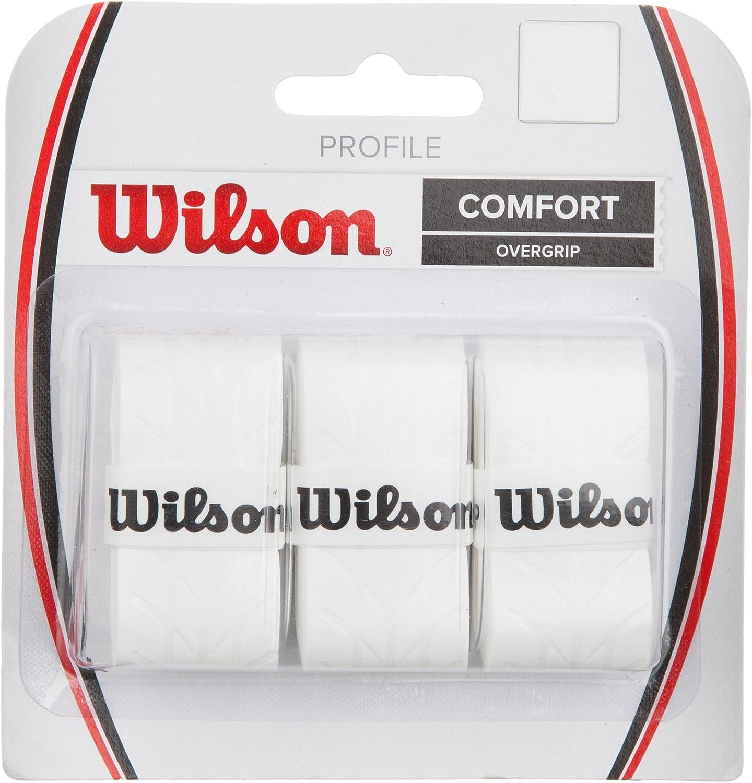 3er Pack Wilson Profile Overgrip f/ür Tennisschl/äger