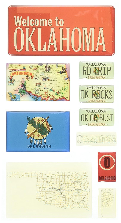 Reminisce Mini Maps, Oklahoma by Reminisce B000WWK6EG