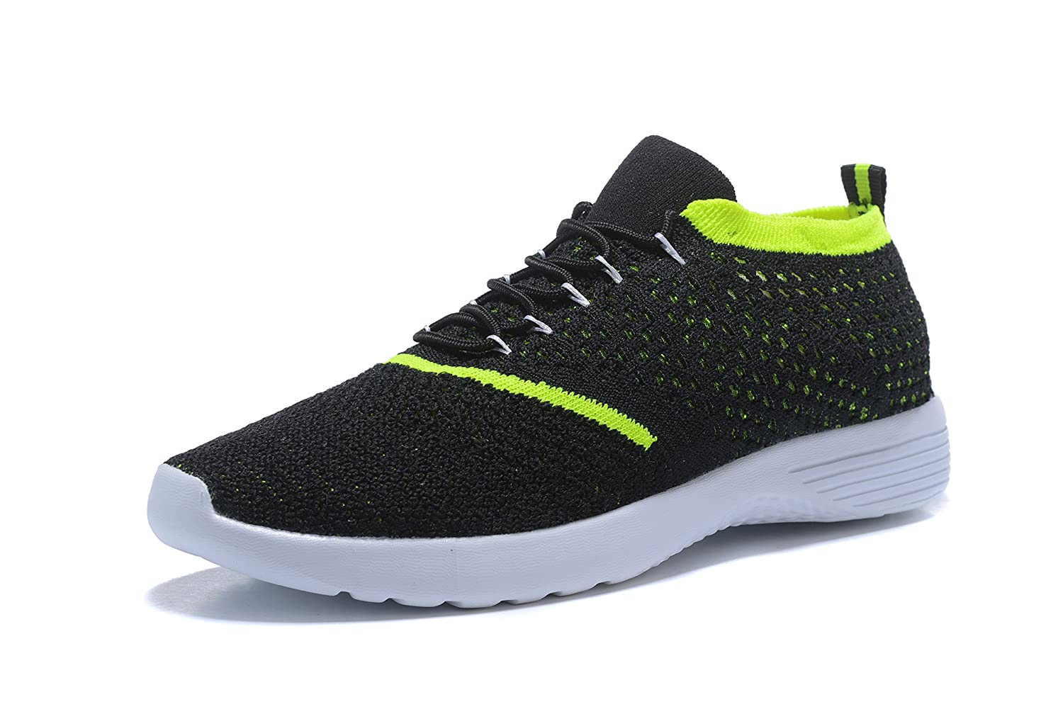 Kenswalk Men's Trainers Gym Walking Athletic Lightweight Sports Knit Running Shoes