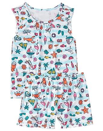 04896e7e7 Amazon.com  Gymboree Girls  2-Piece Pj Set  Clothing