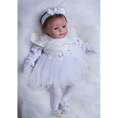 "OtardDolls Reborn Dolls 22"" Reborn Baby Doll Lifelike Baby Doll Open Eyes Girl: Toys & Games"