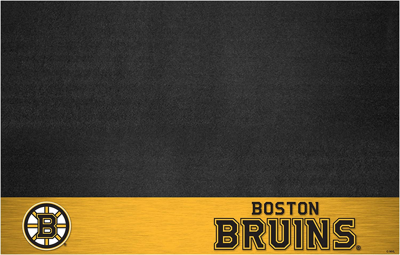 FANMATS 14226 NHL Boston Bruins Grill Mat