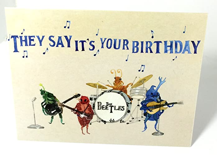 Amazon Pack Of Ten Beatles Beetles Band They Say Its Your