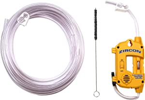 Zircon Water Level 25 with 25 ft Hose - Electronic Water Level/DIY Indoor and Outdoor Use
