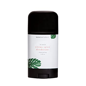 All-Natural Citrus Spice Organic Deodorant
