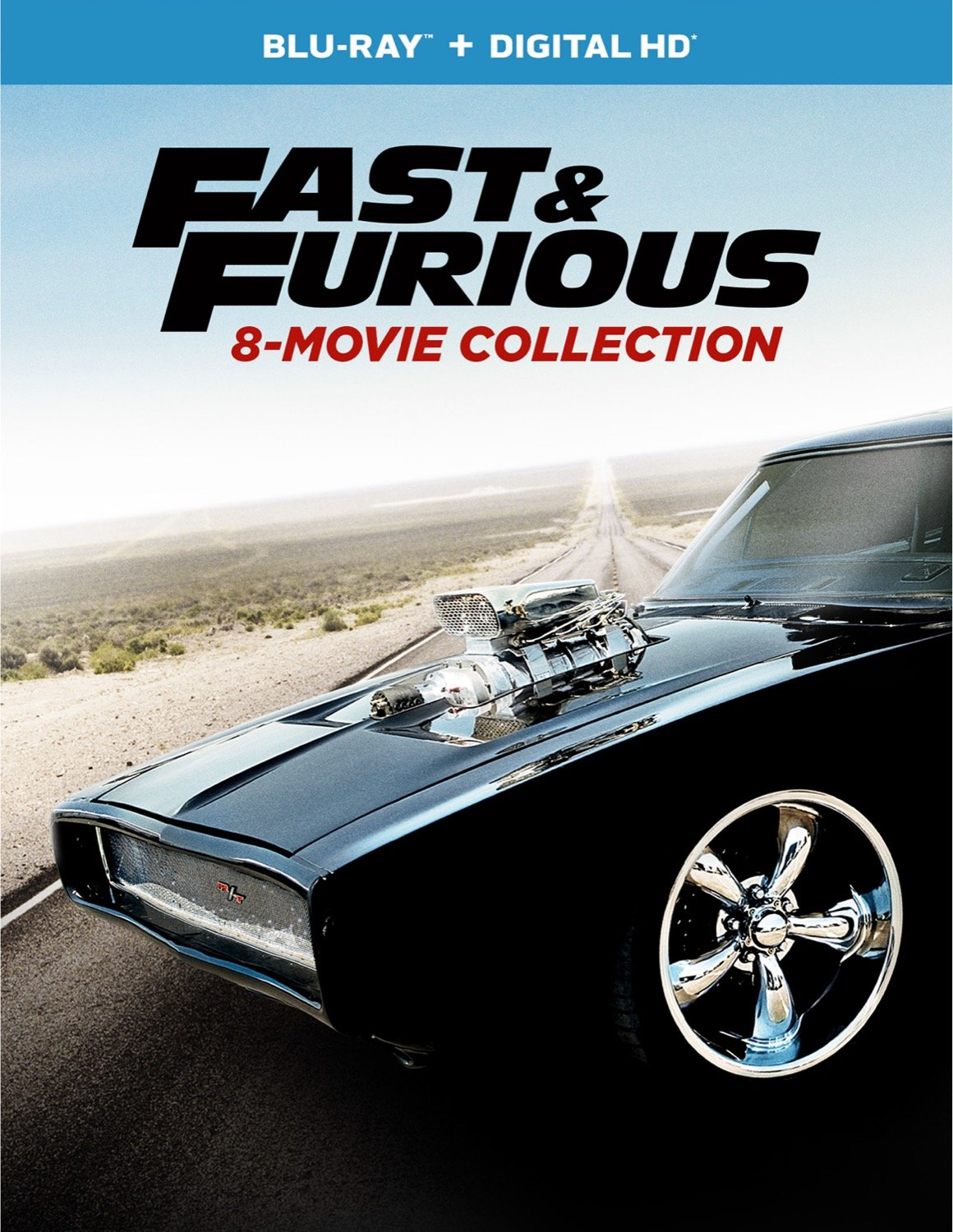 Fast & Furious 8-Movie Collection [Blu-ray]