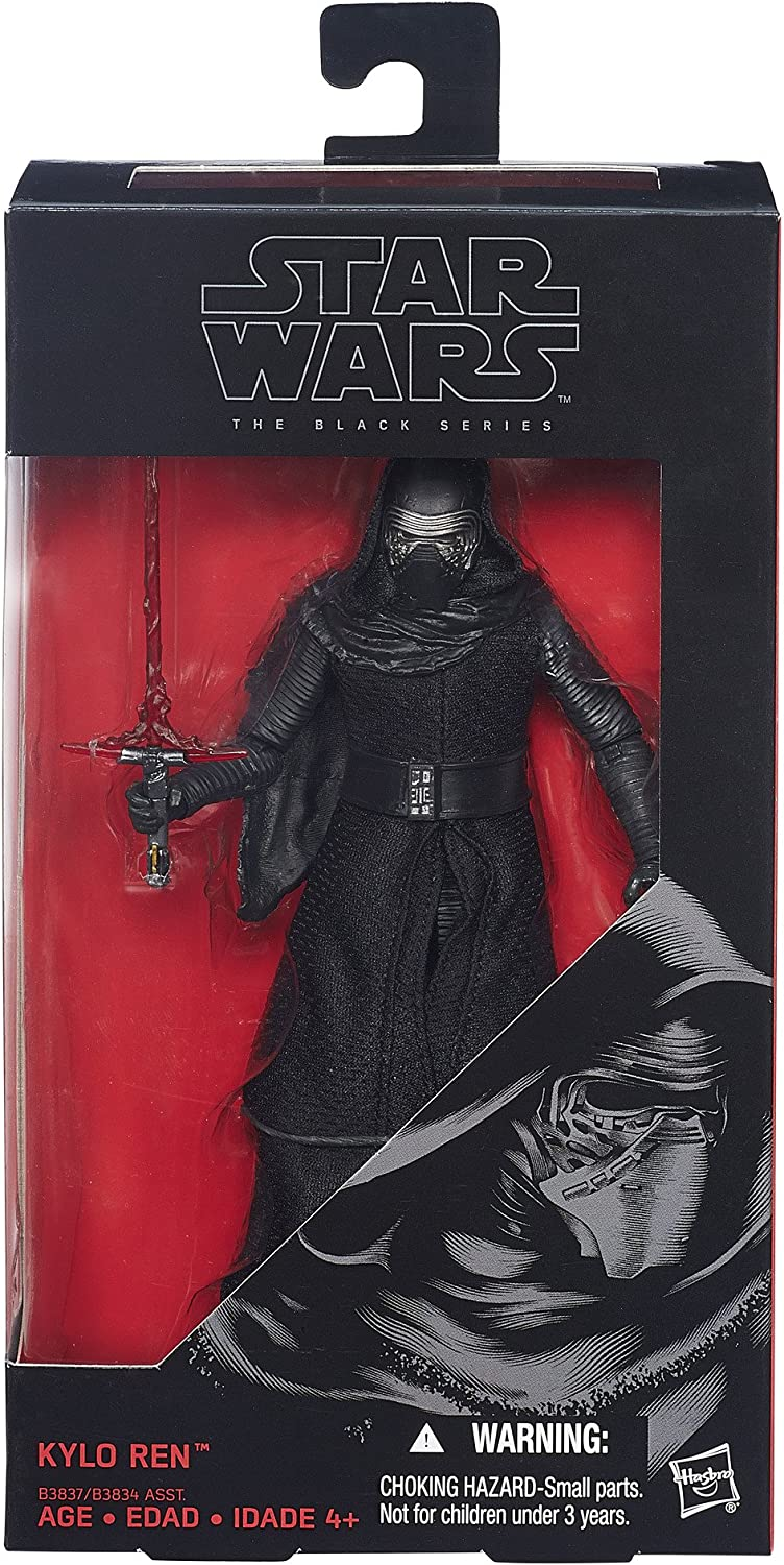 "Star Wars THE BLACK SERIES KYLO REN 6/"" ACTION FIGURE 6-inch #3 HASBRO Masked"