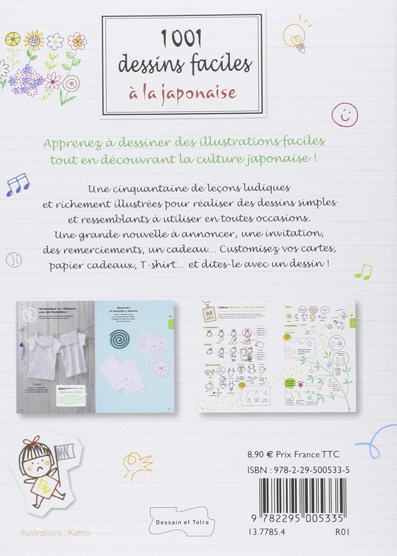 Amazonfr 1001 Dessins Faciles à La Japonaise Collectif