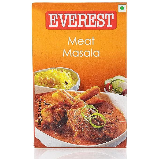 Everest Masala Powder - Meat, 100g Carton