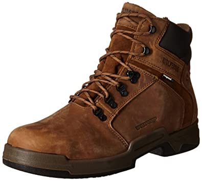 c1695f0d5bf Amazon.com: Wolverine Men's Griffin 6-Inch Steel Toe Work Boot: Shoes