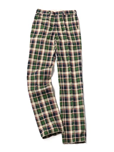 Madras Trousers 113-37-0010: Green