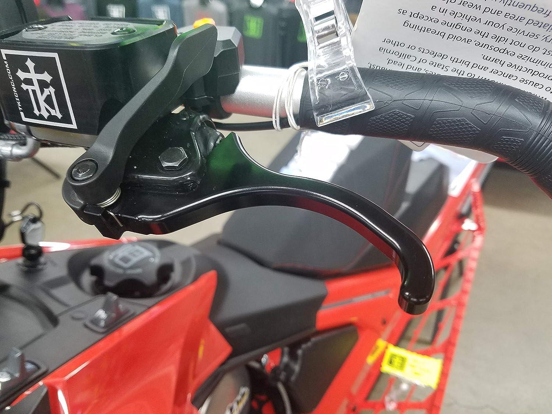 Summit MXZ 850 Renegade Billet Aluminum Short Pull Brake Lever for Ski-Doo: 600 TKI TKI-SBB FreeRide 800