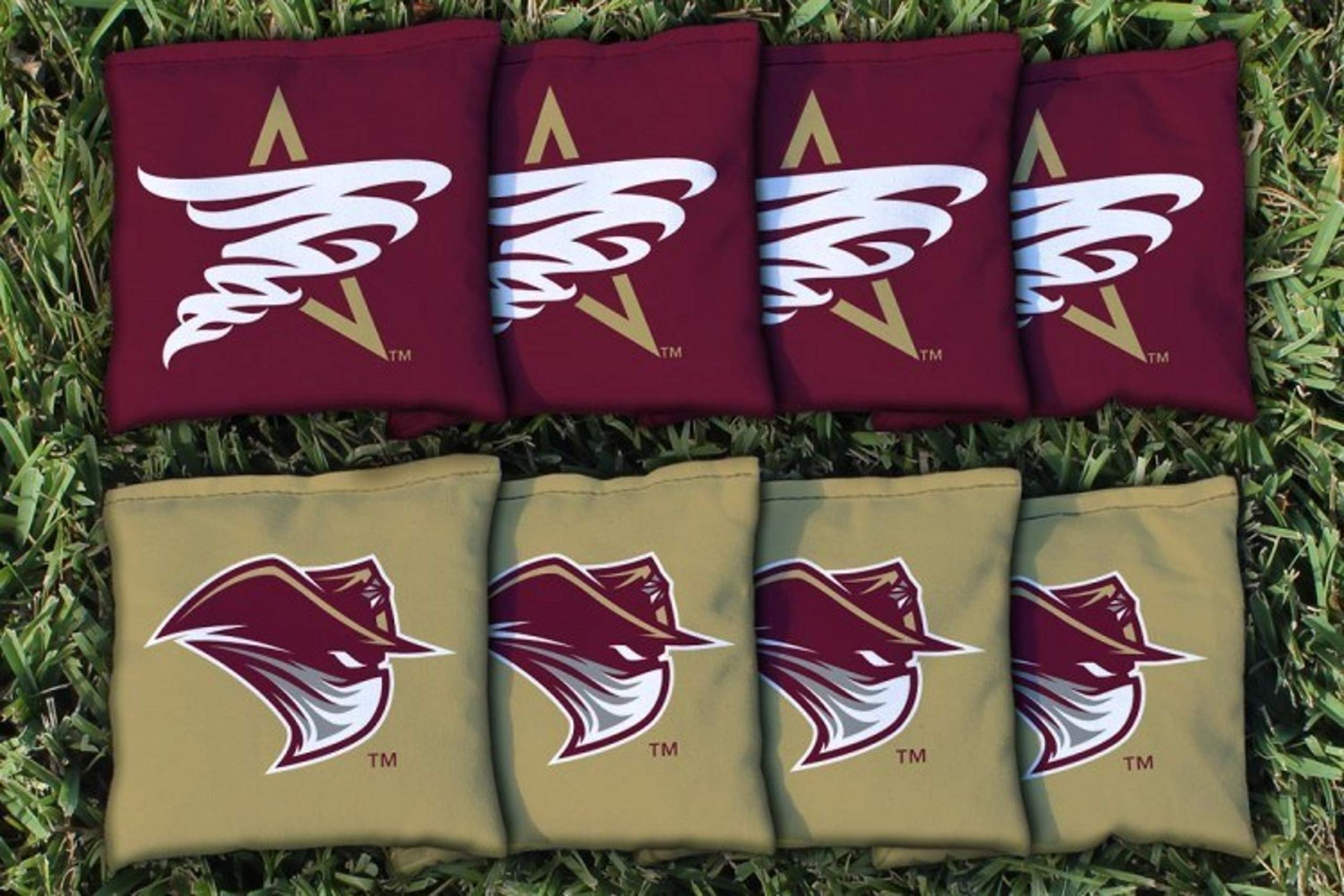Victory Tailgate NCAA Collegiate Regulation Cornhole Game Bag Set (8 Bags Included, Corn-Filled) - Texas A&M - International Dust Devils by Victory Tailgate