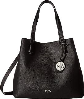 30e6e7ba1645b Nine West Take A Lift Crossbody Bucket Bag, Black/Moody Blue ...