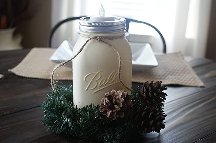 christmas centerpiece rustic christmas centerpiece rustic centerpiece mason jar centerpiece - Rustic Christmas Centerpieces