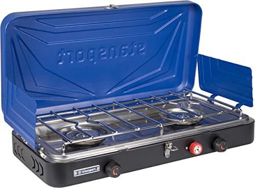 Stansport Outfitter Propane Camp Stove for Outdoor Cooking