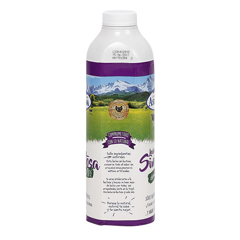 Leche Uht Sin Lactosa Calcio 0% Envase 1L (Asturiana): Amazon.es: Alimentación y bebidas