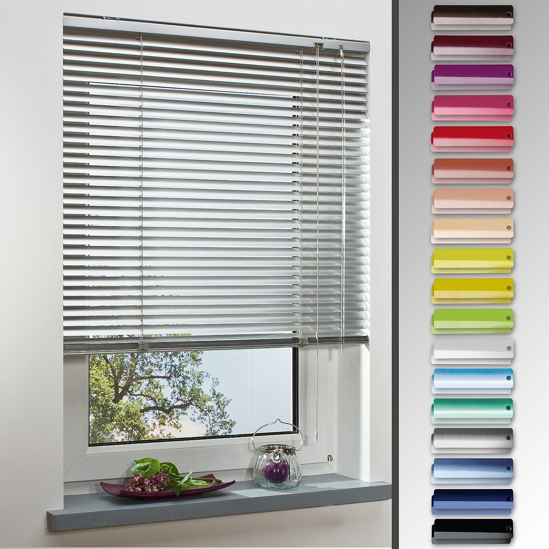 Homelia Alu-Jalousie, Aluminium-Jalousie   160 x 220 weiß   Wand-und Deckenmontage, Rollo, Jalousie