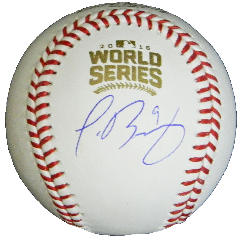 Javier Baez Signed Rawlings 2016 World Series Baseball