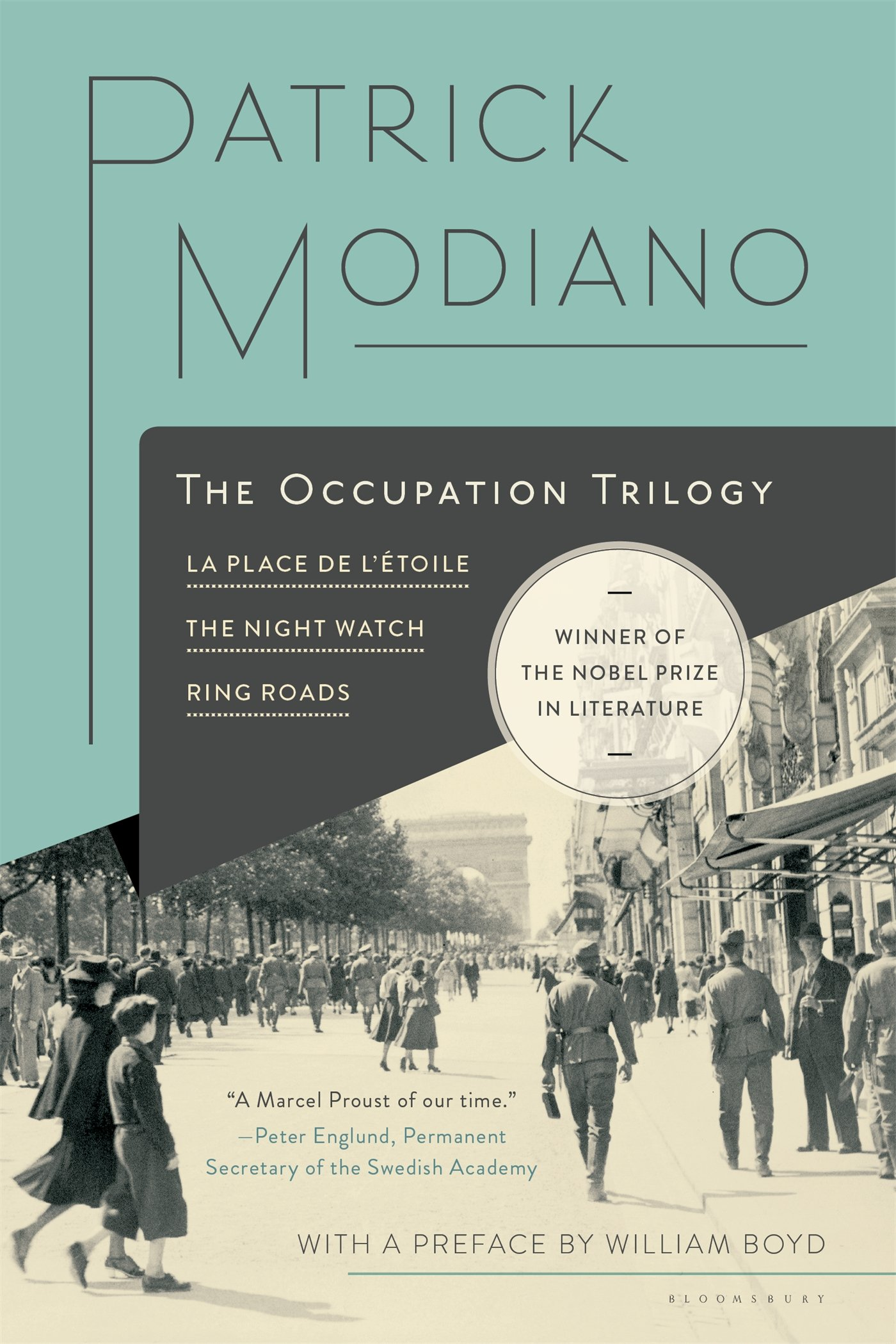 Amazon The Occupation Trilogy La Place De Ltoile Night Watch Ring Roads 9781632863720 Patrick Modiano Books