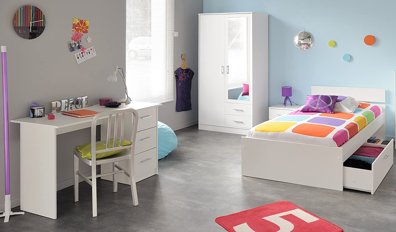 Parisot juvenil habitaciones con armario de 4 piezas infinity ...