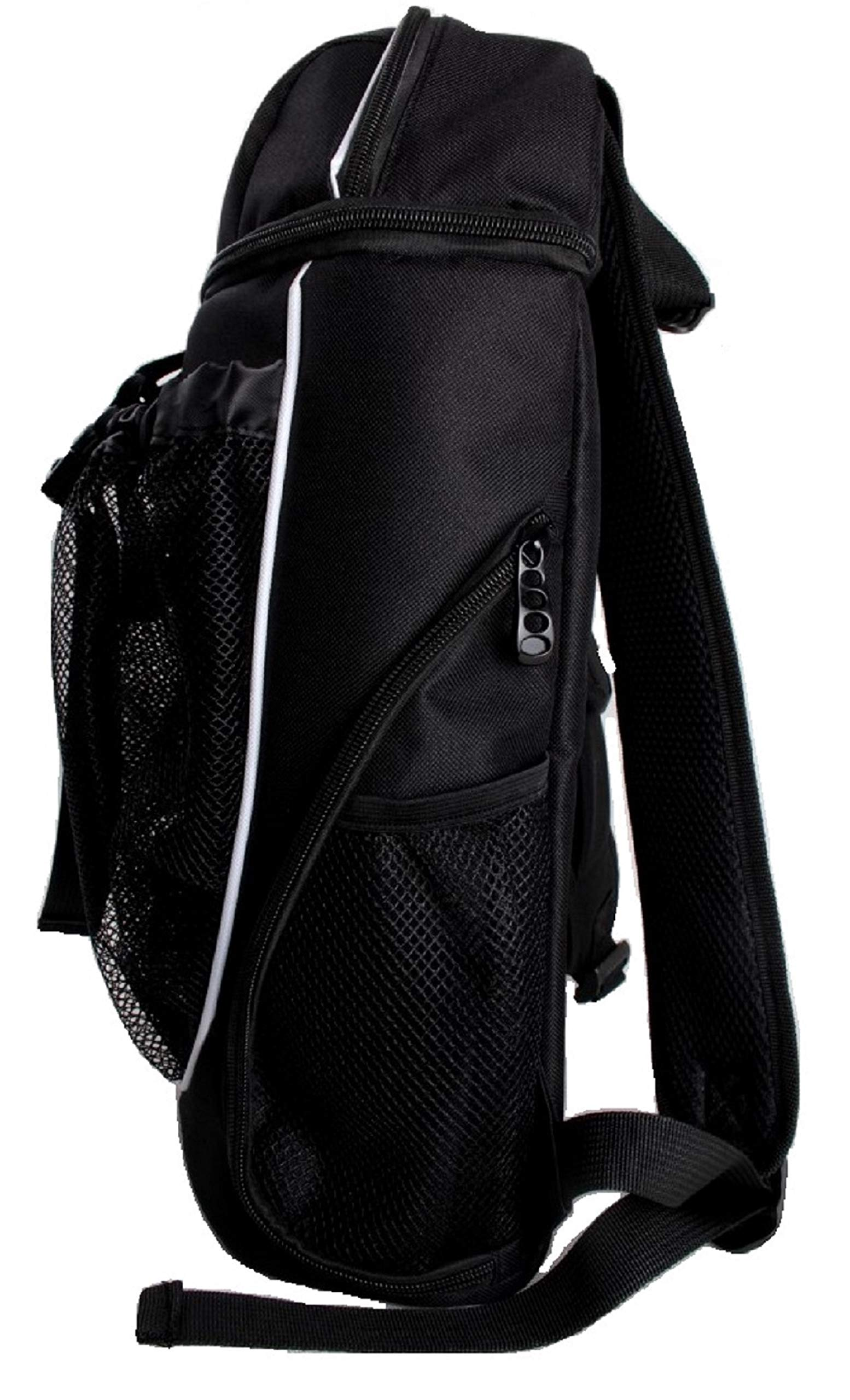 Hard Work Sports Basketball Backpack with Ball Compartment by Hard Work Sports (Image #4)