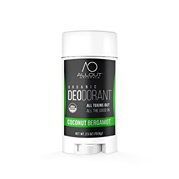 All Out Naturals Organic Deodorant Best Natural Deodorant For Women And Men For Sensitive Skin