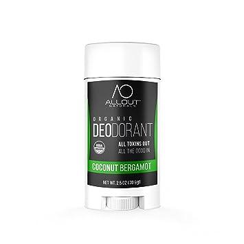 Amazon Com All Out Naturals Organic Deodorant Best Natural