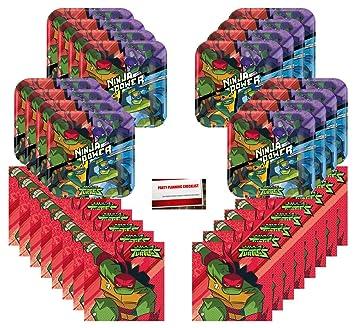 Amazon.com: Teenage Mutant Ninja Turtles TMNT Birthday Party ...