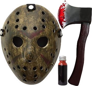 Miedo!! Bienes Jason m?scara!! M?scara del partido Viernes ...