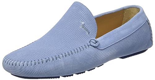 65fc36c7bc9d Harmont & Blaine Mocassino, Sneaker Infilare Uomo, Turchese (Light Blue), 44