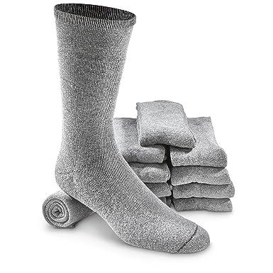Amazon.com: Israeli Army Military Surplus Combat Boot Socks (Pack ...