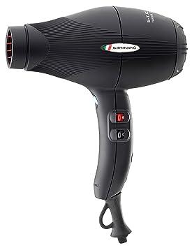 Gamma Piu ETC Light L - Secador de pelo, color negro opaco: Amazon.es: Salud y cuidado personal
