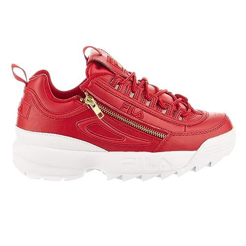 27b56eef5d166 Fila Women's Disruptor 2 Zipper Sneakers