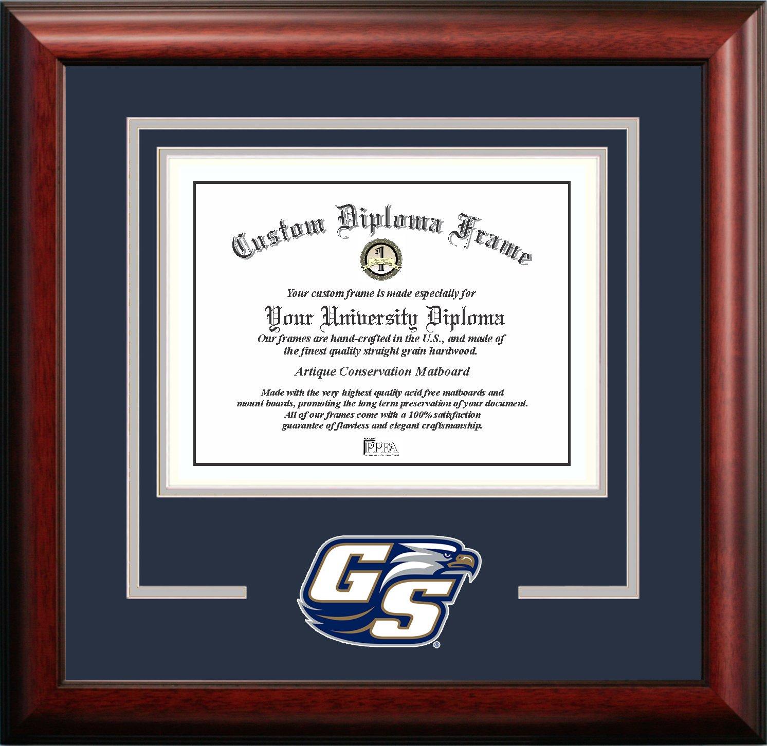 Amazon.com : Campus Images NCAA Akron Zips Spirit Diploma Frame, 8.5 ...