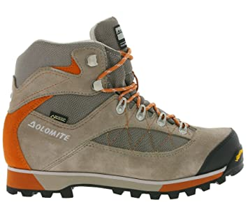 Dolomite Zernez GTX Women - beaver brown/turmeric orange BYFtA