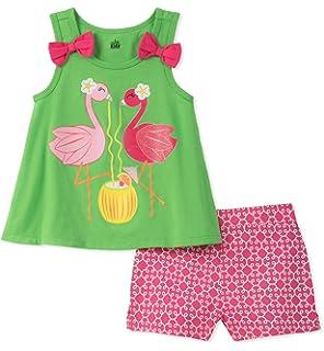 45cd7674c Amazon.com  Kids Headquarters Girls  Tunic Set-Transitional  Clothing