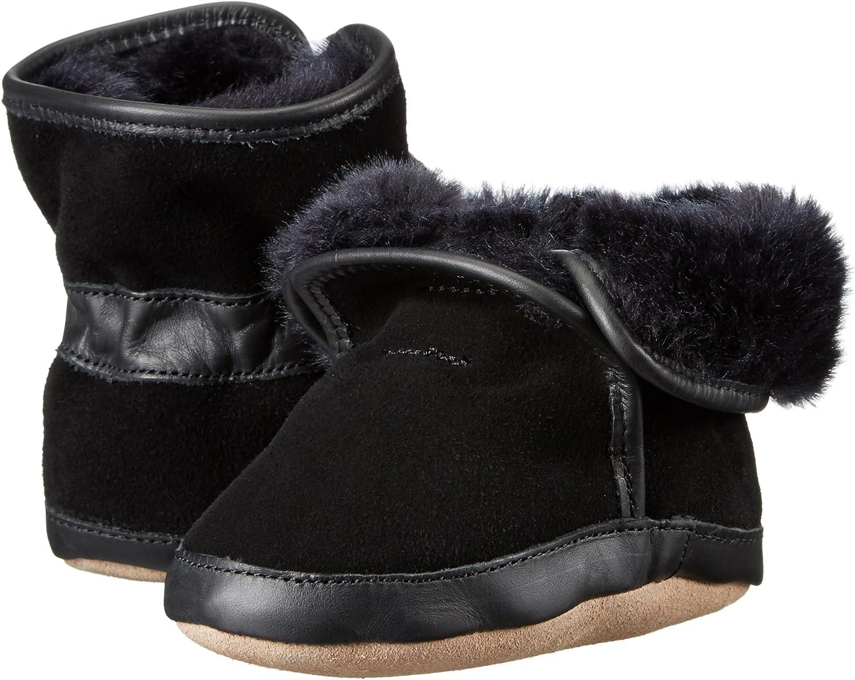 Robeez Baby-Boys Cozy Ankle Bootie-K Boot