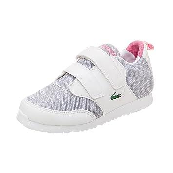 adidas Mädchen L.Ight Sneaker, WeißPink, 25 EU: