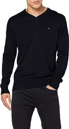 Tommy Hilfiger Pima Cotton Cashmere V Neck Jersey para Hombre
