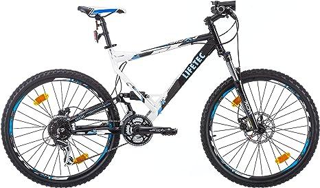 Lifetec Jdx Bicicleta de Montaña con Doble Suspensión Hombre ...