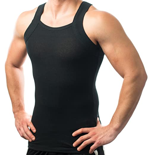 d8f6f5a77636b Different Touch Men s G-Unit Style Square Cut Underwear Shirt at Amazon  Men s Clothing store